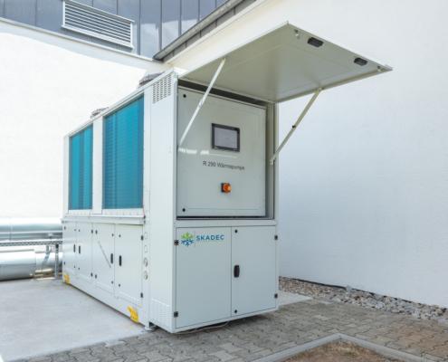 Skadec R290 Wärmepumpe Referenz