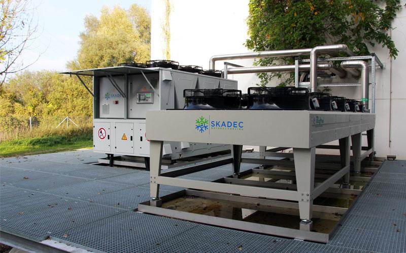 Skadec R290 machines