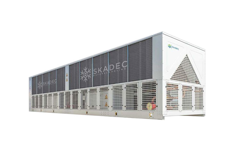 Luftgekühlter Propan (R290) Kaltwassersatz / Kaltsolesatz von Skadec