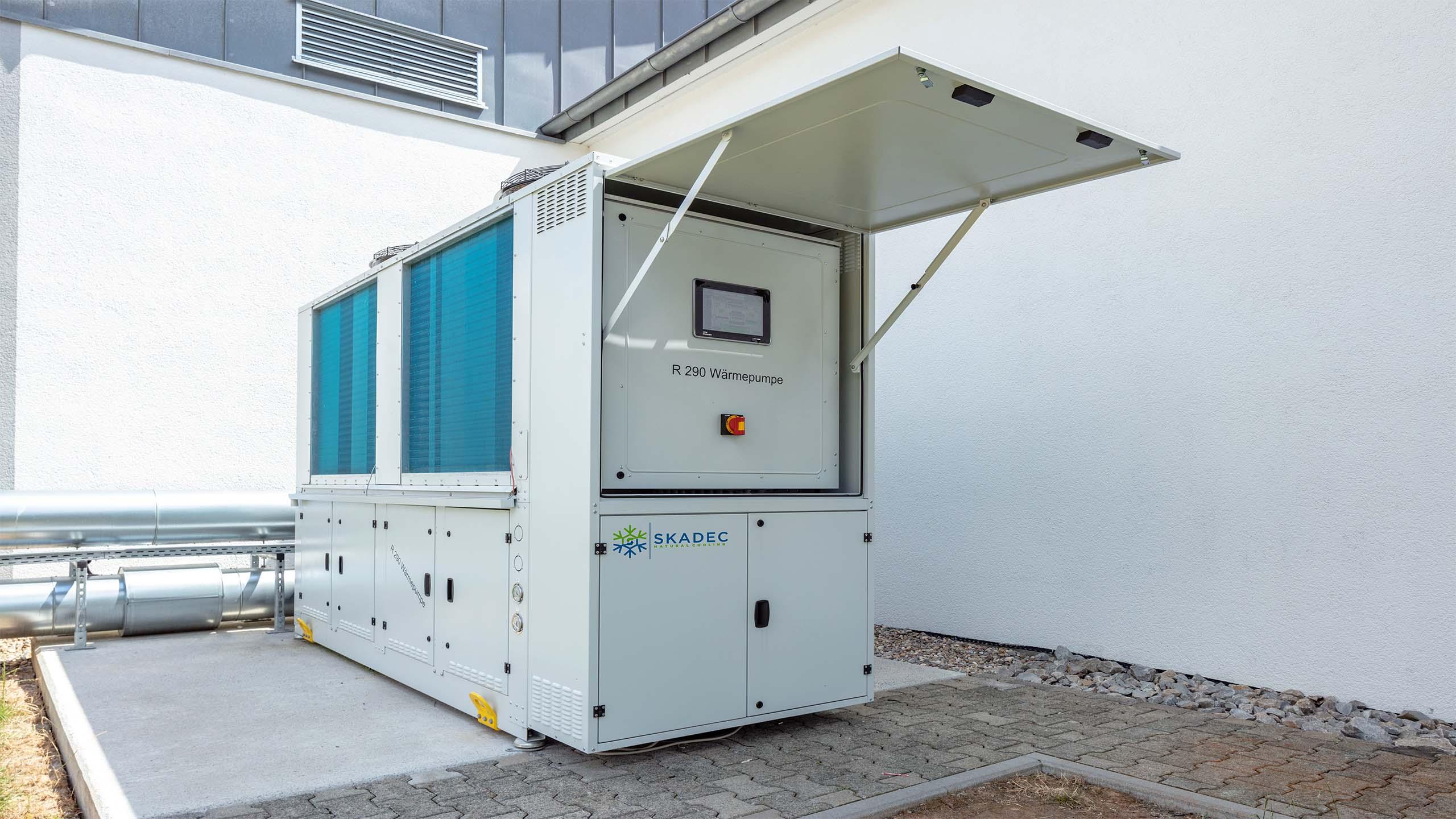 R290 heat pump