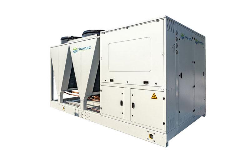 Luftgekühlte Propan (R290) Wärmepumpe von Skadec