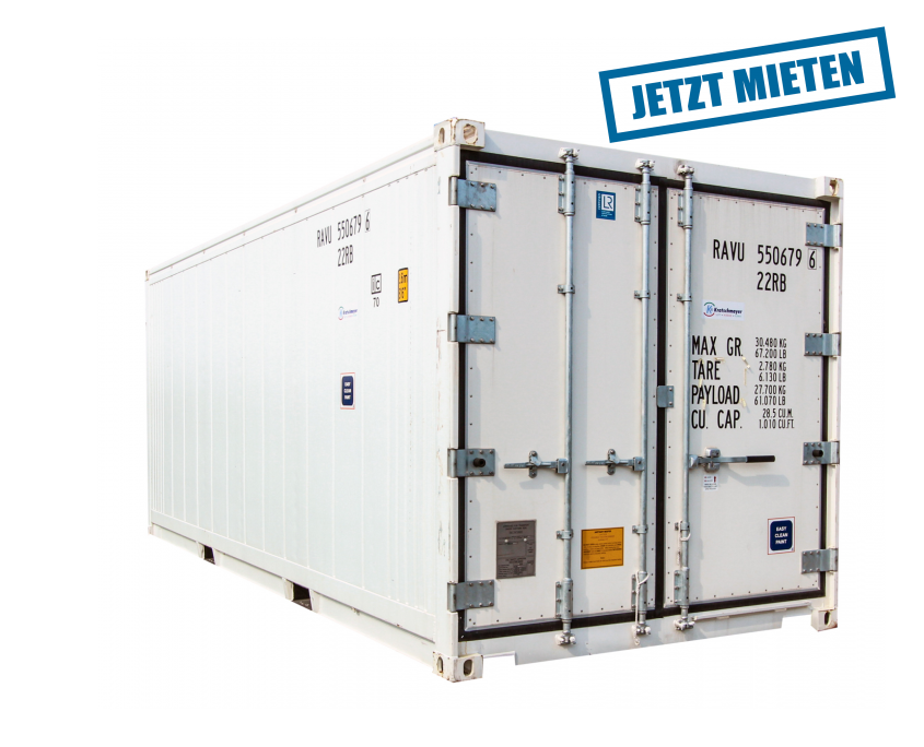 rent freezing container