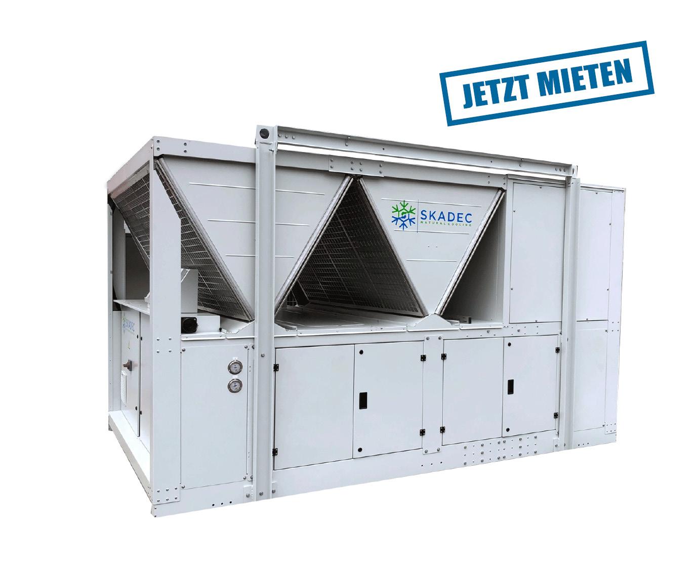 220 kW Kaltwassersatz jetzt mieten