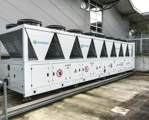 624 kW Kaltwassersatz